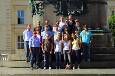 Gruppe der Wien-Exkursion 2011