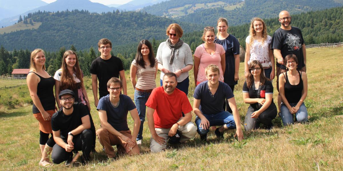 Exkursionsgruppe Rumänien