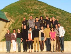 Exkursionsgruppe Galizien